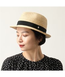 HELEN KAMINSKI/Avara ラフィアハット ハット 帽子 UPF50+ Natural/Midnight  レディース/502443831
