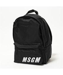 MSGM/2642 MDZ200 バックパック リュック バッグ デイパック ロゴ 99 ユニセックス メンズ/502444027