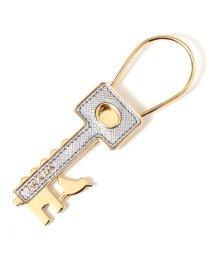 PRADA/1PP050 053 F0135 キーリング 鍵モチーフ CROMO/502444139