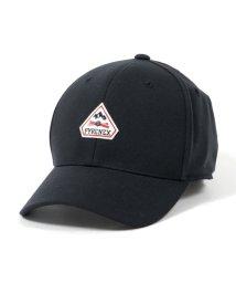 PYRENEX/HML011P0009TU FLEXFIT TECH ロゴ パッチ キャップ 帽子 BLACK/ブラック メンズ/502444167