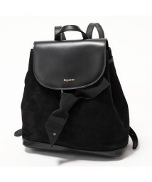 Repetto/M0527CVBX Duo backpack レザー リュック バックパック 410/Noir レディース/502444181