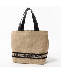 Stella McCartney/570289 W8510 9285 SMALL TOTE ラフィア×エコレザー カゴバッグ カゴ トートバッグ レディース/502444406