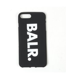 BALR/Classic Silicone case iPhone8+専用ケース ロゴ スマホ スマートフォン カバー Black メンズ/502444471