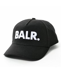 BALR/Classic Cotton Cap 立体ロゴ刺繍 ベースボールキャップ 帽子 コットン Black メンズ/502444472