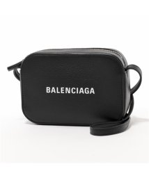 BALENCIAGA/552372 D6W2N 1000 EVERY DAY CAMERA BAG XS AJ レザー ショルダーバッグ ポシェット BLACK/LWHITE/502444478