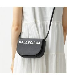 BALENCIAGA/550639 0OTDM ヴィル デイバッグ VILLE DAY BAG XS AJ レザー ショルダーバッグ ポシェット 1000/BLACK-LWHITE/502444485
