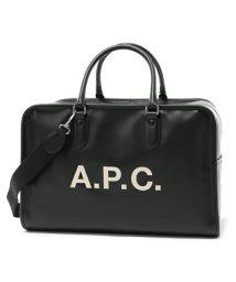 A.P.C./APC PUAAJ H61292 sac paul LZZ  2way ボストンバッグ NOIR ユニセックス/502444510