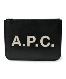 A.P.C./APC PUAAJ F63229 pochette morgane LZZ クラッチバッグ ポーチ NOIR ユニセックス レディース/502444511