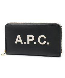 A.P.C./APC PUAAJ F63226 portefeullle morgane LZZ ラウンドファスナー長財布 NOIR ユニセックス レディース/502444513