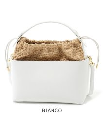 ANITA BILARDI/MANINA RUGA レザー 巾着 ハンドバッグ ショルダーバッグ カラー2色 レディース/502444525