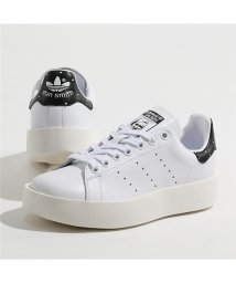 Adidas/BA7771 STAN SMITH BOLD W スタンスミス ローカット スニーカー シューズ FTWWHT/FTWWHT/CBLACK レディース/502444536