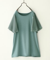 osharewalker/フレアスリーブデザインTシャツ/502445158