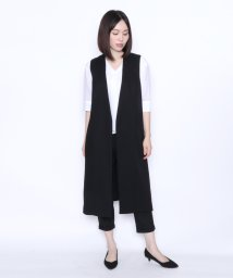 LASUD/[Aga]サイドポケット ロングジレ/502447398