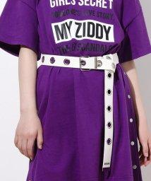 ZIDDY/ロングアイレット合皮ベルト/502449530