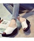 miniministore/厚底サンダル レディース ウェッジソール ミュールサンダル オープントゥ 歩きやすい 靴 即納/502450252