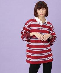 JUNRed/【WEB別注】BIGシルエットラガーシャツ/502450895