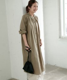 URBAN RESEARCH Sonny Label/ギャザーシャツワンピース/501223033