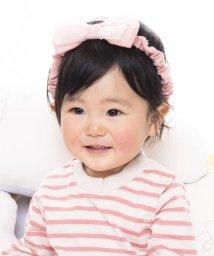 e-baby/天竺+チュールリボンヘアバンド/502420208