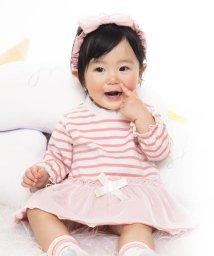 e-baby/天竺+チュールチュチュ風カバーオール/502420215