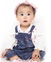 e-baby/天竺デニムプリントカバーオール/502420226