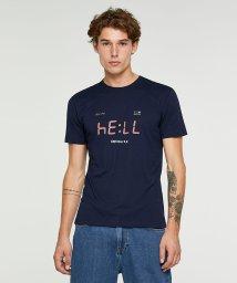 SISLEY/グラフィックプリント半袖Tシャツ・カットソー/502427247