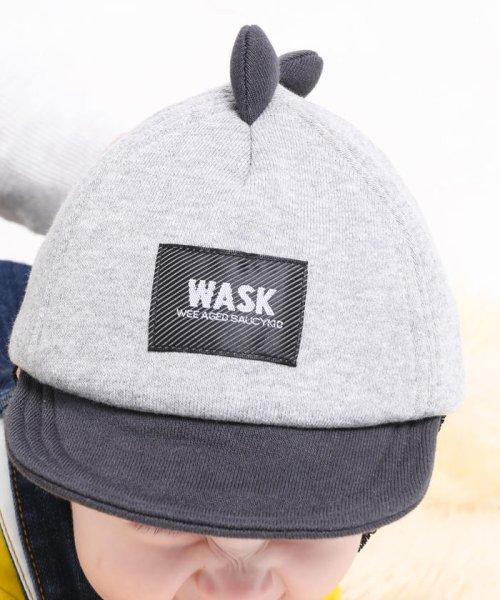 WASK(ワスク)/〈ベビー〉恐竜キャップ/1354155931