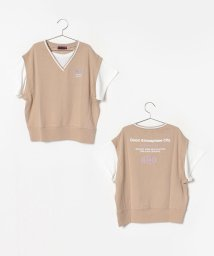 Lovetoxic/ベストレイヤード風Tシャツ/502439202