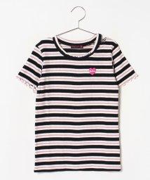 Lovetoxic/衿スリットテレコTシャツ/502439204