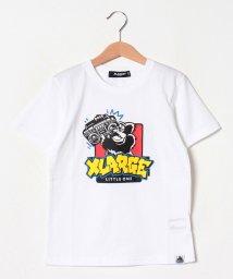 XLARGE KIDS/ラジカセ&ゴリラTシャツ/502439227
