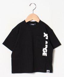 XLARGE KIDS/たてロゴポケットワイドTシャツ/502439228