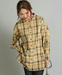 MAYSON GREY/チェックロングシャツ/502451342