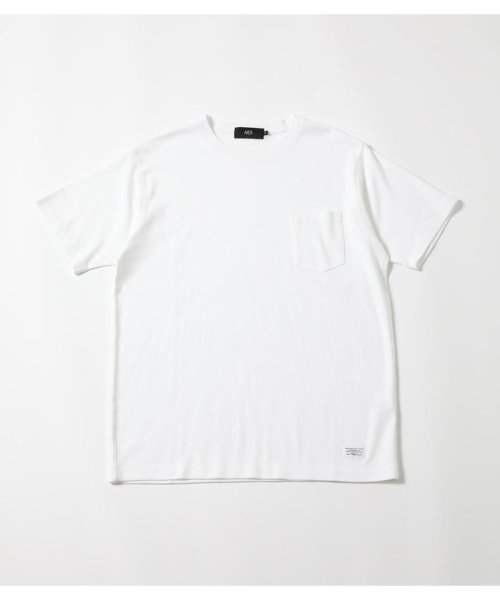 AZUL by moussy(アズールバイマウジー)/OVER LOCK T-SHIRT/251CAF80-179F