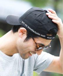 JIGGYS SHOP/メッセージプリントキャップ / キャップ メンズ 帽子 CAP/502451821