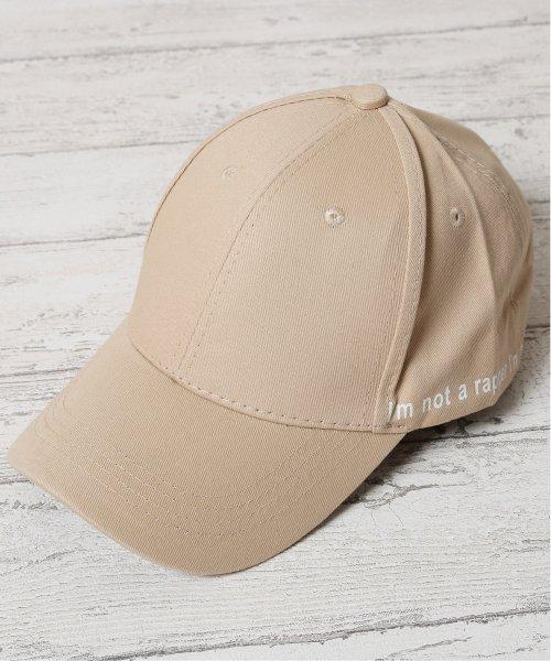 JIGGYS SHOP(ジギーズショップ)/メッセージプリントキャップ / キャップ メンズ 帽子 CAP/205158
