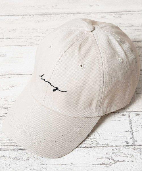 JIGGYS SHOP(ジギーズショップ)/英字刺繍キャップ / キャップ メンズ 帽子 CAP/205159