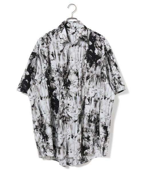 JUNRed(ジュンレッド)/【WEARISTA JUNコラボ】総柄ビッグシャツ/ANG69110