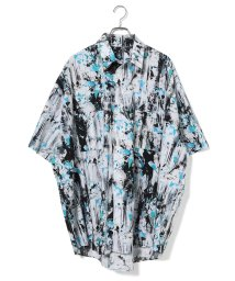 JUNRed/【WEARISTA JUNコラボ】総柄ビッグシャツ/502451899