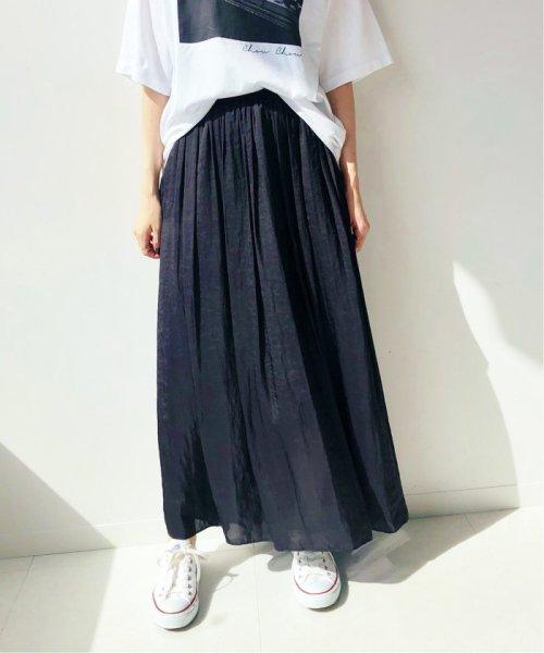 IENA(イエナ)/《予約》ヴィンテージ サテンマキシスカート◆/19060900904030