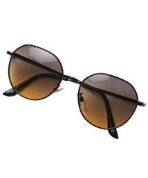 LUXSTYLE/メタルフレームグラデーションレンズサングラス/サングラス メガネ グラデーション/502453190