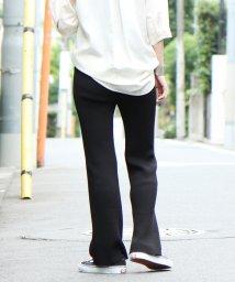 coen/【デオドラント】コットンリブ編みパンツ/502453226