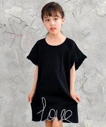 子供服Bee/LOVE刺繍ワンピ/502453390