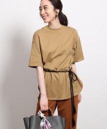 ROPE'/【ロープベルト付き】オーバーサイズTシャツ/502453600