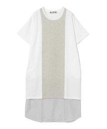 Ray BEAMS/ALOYE × Ray BEAMS / 別注  ショートスリーブ ドレス/502319529