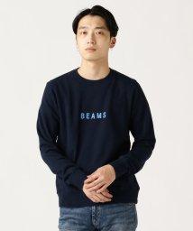 BEAMS MEN/BEAMS / ロゴ スウェット クルーネック/502443250