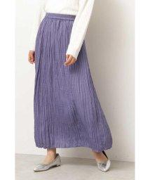 PROPORTION BODY DRESSING/|美人百花 10月号掲載|◆ロングランダムプリーツスカート/502454262