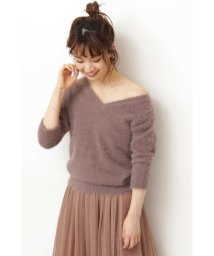 PROPORTION BODY DRESSING/◆フェザーVニット/502454266
