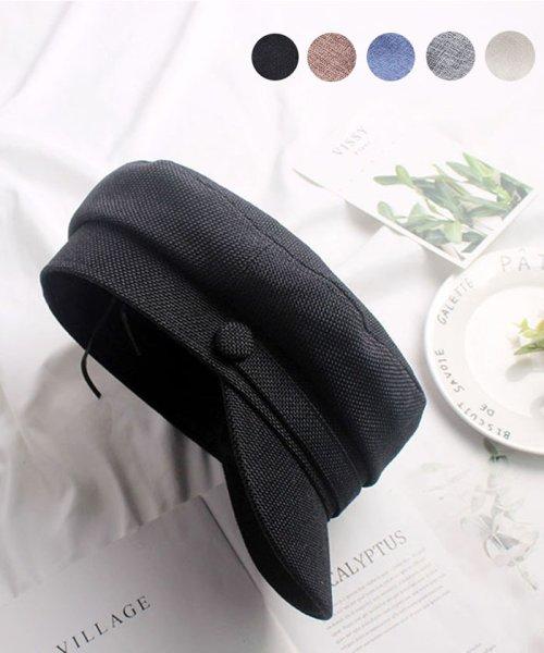 miniministore(ミニミニストア)/帽子 レディース uv 折りたたみ キャップ おしゃれ 春夏 キャスケット 大きい 即納/SINIU-001