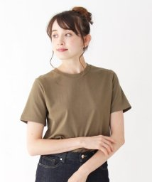 OPAQUE.CLIP/コットンシンプルクルーネックTシャツ/502455074