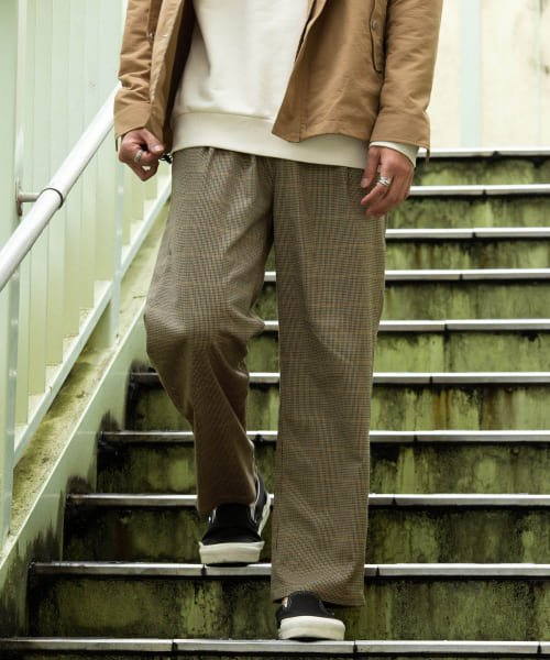 URBAN RESEARCH Sonny Label(アーバンリサーチサニーレーベル)/ワイドテーパードイージーパンツ/LA96-14Y901