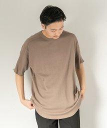 SENSE OF PLACE/ハニカムワッフルルーズTシャツ(半袖)/502455658